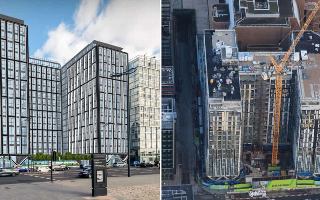 Kinlan Brickwork Ltd awarded masonry contract for The Strand
