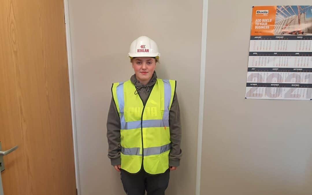 New Recruit for Kinlan Brickwork Ltd