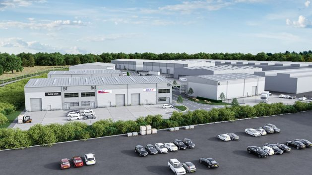Kinlan Brickwork Ltd secure Caddick Development