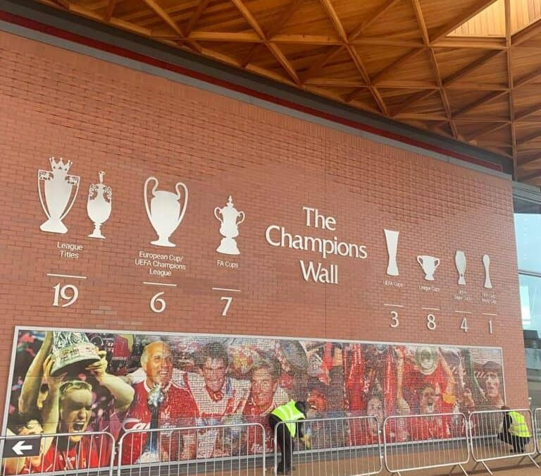 'The Champions Wall'