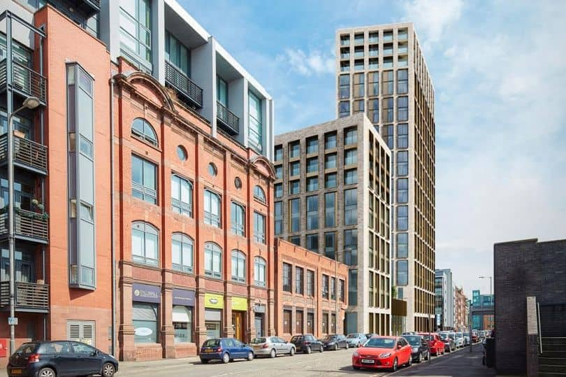 Kinlan Brickwork have been awarded the full masonry package for Pall Mall!